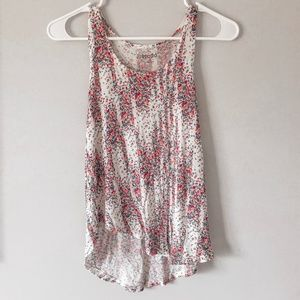 Floral Patterned Tank